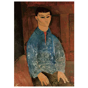 moise kisling seated by amedeo modigliani