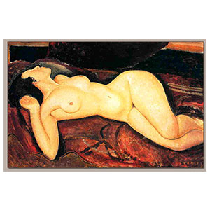 recumbent nude or nu couche sur le dos by amedeo modigliani