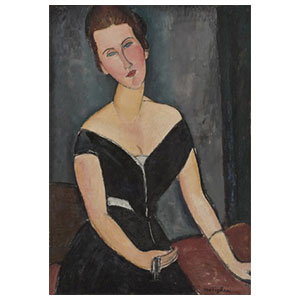 MME. VAN MUYDEN BY AMEDEO MODIGLIANI