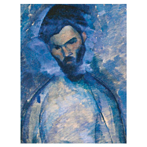 study of brancusi portrait by amedeo modigliani