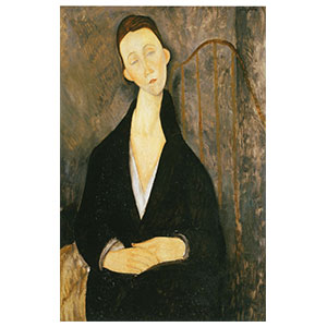 lunia in black by amedeo modigliani