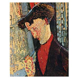 frank burty haviland by amedeo modigliani