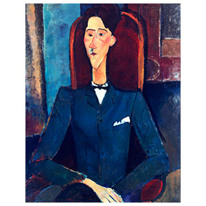 jean cocteau by amedeo modigliani
