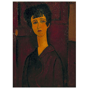 young woman or victoria by amedeo modigliani