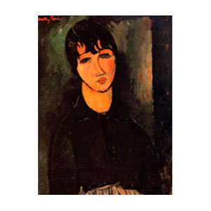 the servant , la servante by amedeo modigliani