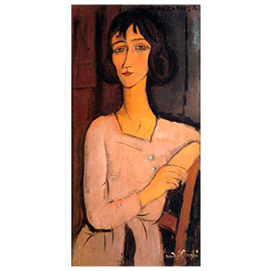 MARGUERITE SEATED BY AMEDEO MODIGLIANI