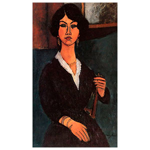 almaisa seated by amedeo modigliani