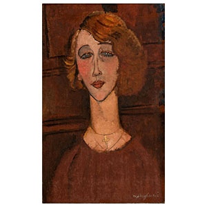 THE BLOND RENEE BY AMEDEO MODIGLIANI