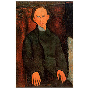 PINCHUS KREMEGNE BY AMEDEO MODIGLIANI