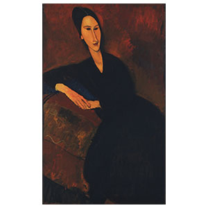 ZBOROWSKA ON A DIVAN BY AMEDEO MODIGLIANI
