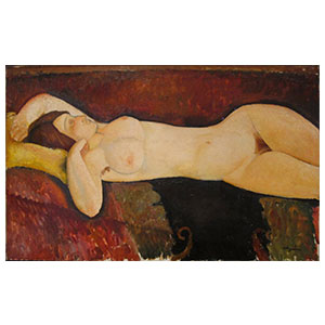the great nude by amedeo modigliani