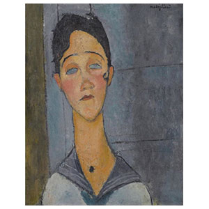 Louise by Amedeo Modigliani