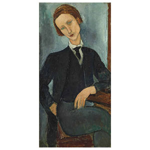 Monsieur Baranowski by Amedeo Modigliani