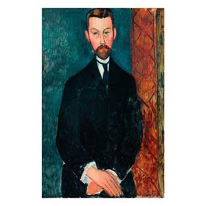 paul alexandre portrait by amedeo modigliani
