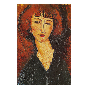 young woman of montparnasse by amedeo modigliani