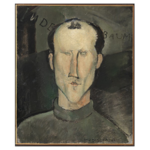Leon Indenbaum by amedeo modigliani