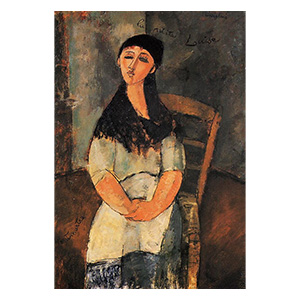 LA PETITE LOUISE BY AMEDEO MODIGLIANI