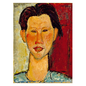 CHAIM SOUTINE HEAD BY AMEDEO MODIGLIANI