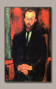 Count Weilhorski BY AMEDEO MODIGLIANI