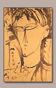 mateo by amedeo modigliani