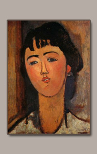 Portrait of a Woman by amedeo modigliani