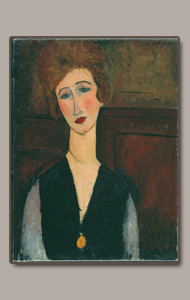 LA BELLE IRLANDAISE, THE IRISH BEAUTY BY AMEDEO MODIGLIANI