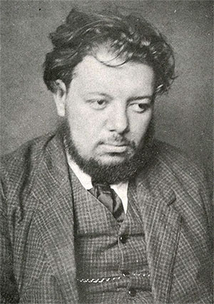 Diego Rivera in 1910