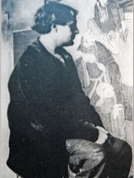 Modigliani at foujita studio