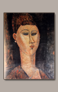 woman head  - Amedeo Modigliani