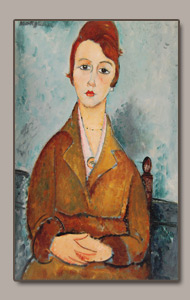 la jeune lolotte by amedeo modigliani