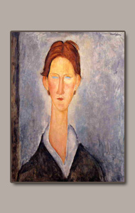 THE STUDENT BY AMEDEO MODIGLIANI