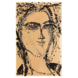 woman head amedeo modigliani