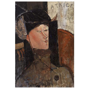 Beattice Hastings  amedeo modigliani