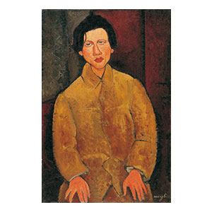 soutine in yellow  netter collection by amedeo modigliani