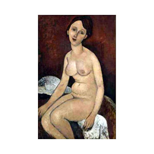 seated nude amedeo modigliani