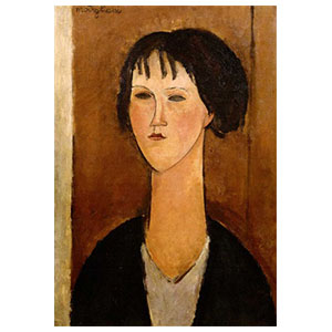 woman amedeo modigliani
