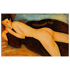 Reclining nude on back amedeo modigliani