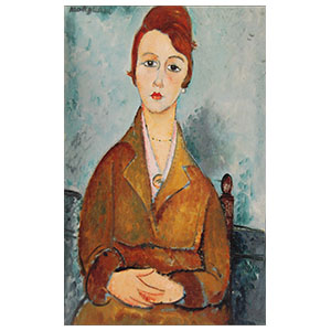 The young Lolotte amedeo modigliani