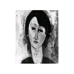 brunette amedeo modigliani