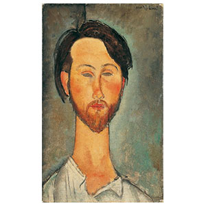 PAINTINGS OF MEN BY AMEDEO MODIGLIANI