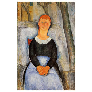 The beautiful vendor amedeo modigliani