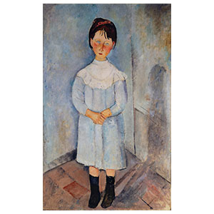 Girl in blue amedeo modigliani