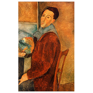Sel-fportrait amedeo modigliani