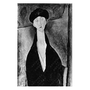 Lunia with cap amedeo modigliani
