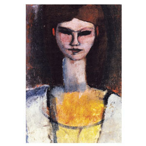woman bust amedeo modigliani