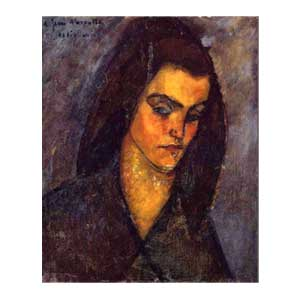 beggar woman amedeo modigliani