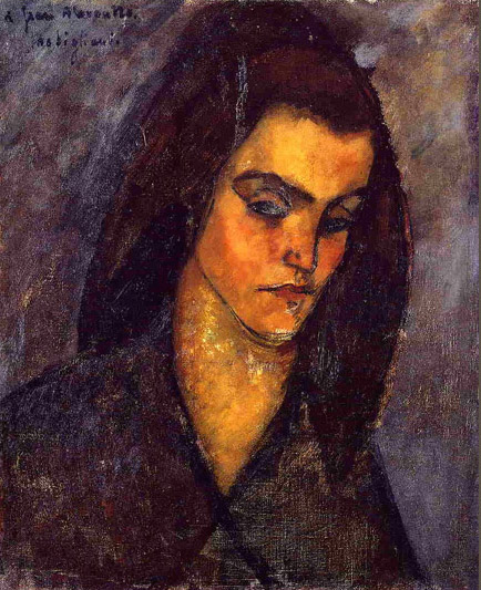 the beggar woman by amedeo modigliani