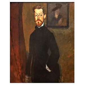 paul alexandre brown background amedeo modigliani