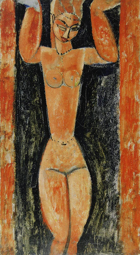 caryatid- coffee bean by amedeo modigliani